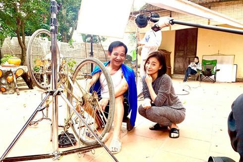 """Nghệ sĩ Quang Tèo trong phim """"Cô gái nhà người ta"""""""