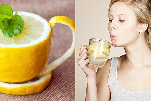 Uống một cốc nước chanh ấm mỗi ngày giúp giải độc gan hiệu quả