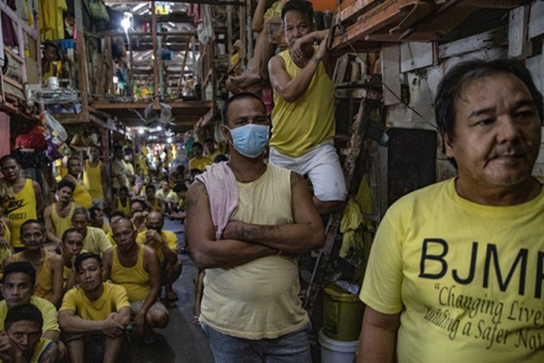 Trại giam quá tải ở Philippines là một mối lo khi dịch Covid-19 bùng phát