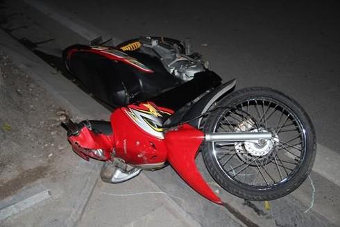 Sợ bị đòi nợ, đâm xe máy vào chủ nợ ảnh 1