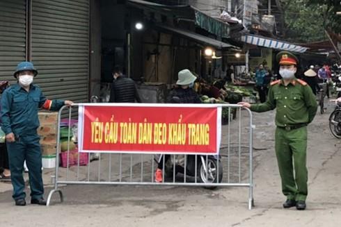 Chủ động phòng, chống dịch Covid-19 ở xã Tiền Phong, huyện Mê Linh (Hà Nội) ảnh 1