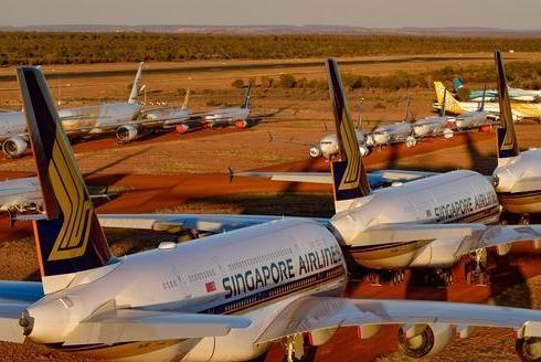 Kinh doanh bãi đỗ máy bay đắt khách trong mùa Covid-19 ảnh 1