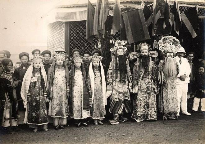 Gánh hát Nam Định trong lễ Tứ tuần Đại khánh của Hoàng đế Khải Định (1924)