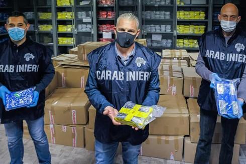 Cảnh sát ở Tuscany, Italia thu giữ 3 tấn cocaine giữa mùa dịch Covid-19 hôm 15-5-2020