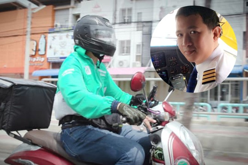 Chia sẻ của phi công Thái Lan tạm thời đi giao hàng vì dịch Covid-19 ảnh 1