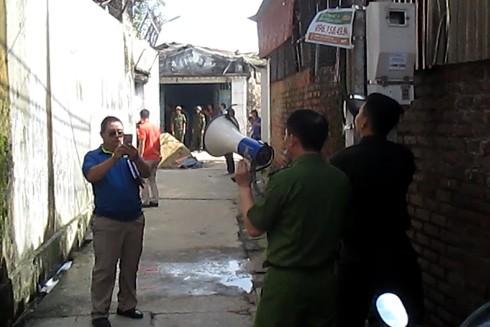 Cùng tham gia phá án với lực lượng Cảnh sát hình sự đặc nhiệm