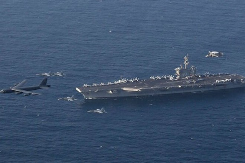 Việc Mỹ triển khai cùng lúc 3 biên đội tác chiến tàu sân bay ở khu vực Biển Đông được xem như là sự ứng phó thích đáng đối với Trung Quốc