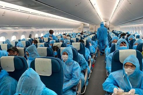 Đã tổ chức 55 chuyến bay đưa 13.323 công dân ở nước ngoài về nước