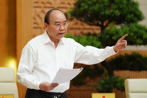 Thủ tướng Nguyễn Xuân Phúc phát biểu kết luận Hội nghị