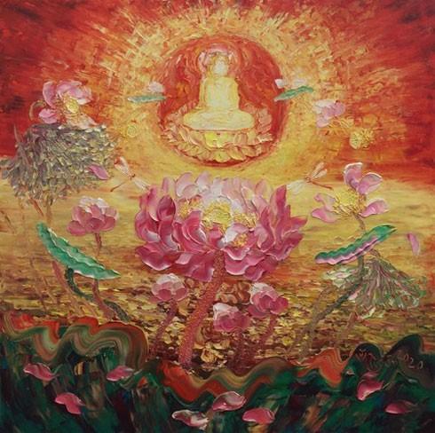 Họa sĩ Vũ Tuyên: Sen là người tình tuyệt vời trong nghệ thuật