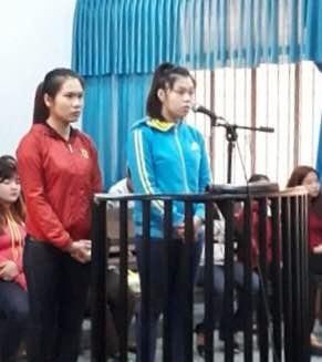 Phiên toàn xét xử 2 đối tượng Nguyễn Ngọc Thúy và Lê Thị Kim Dung