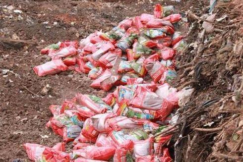 Số phân bón được tiêu hủy theo đúng quy định