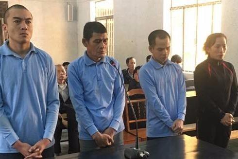 Các bị cáo đều thừa nhận hành vi phạm tội tại phiên tòa