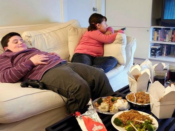 Căng thẳng gia đình có liên quan với béo phì ở trẻ ảnh 1