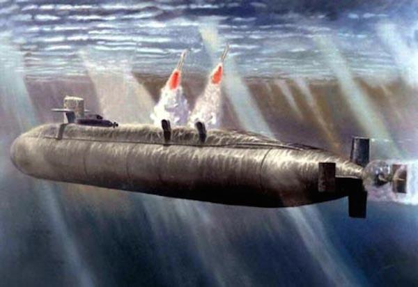 Tàu ngầm Type 096 lớp Tang có thể mang theo 24 tên lửa