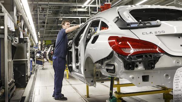 Mercedes CLA Shooting Brake chính thức đi vào sản xuất hàng loạt