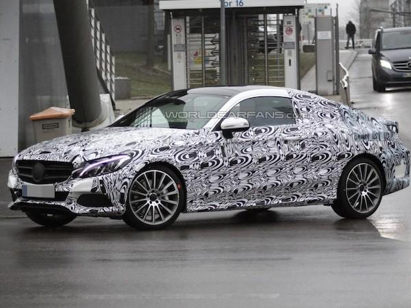 Mercedes C-Class Coupe 2016 có thiết kế cao cấp ảnh hưởng mẫu S-Class Coupe