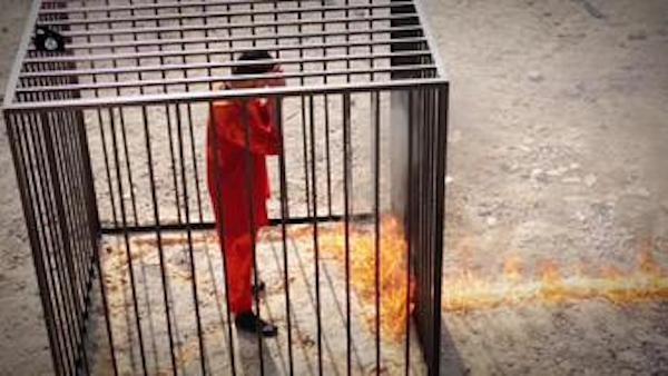 IS tung video quay cảnh thiêu sống phi công người Jordan ảnh 2