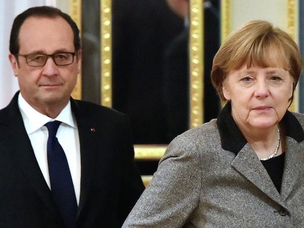 Lãnh đạo Nga, Đức sẽ đề ra một bản kế hoạch hoà bình mới cho Ukraine