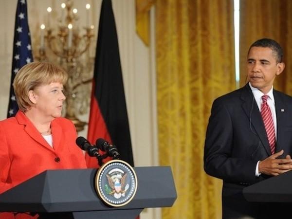 Mỹ và Đức đã tỏ rõ những quan điểm trái ngược về cách giải quyết tình hình Ukraine