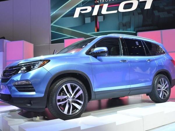 Honda Pilot 2016: Rộng rãi và hiện đại ảnh 1