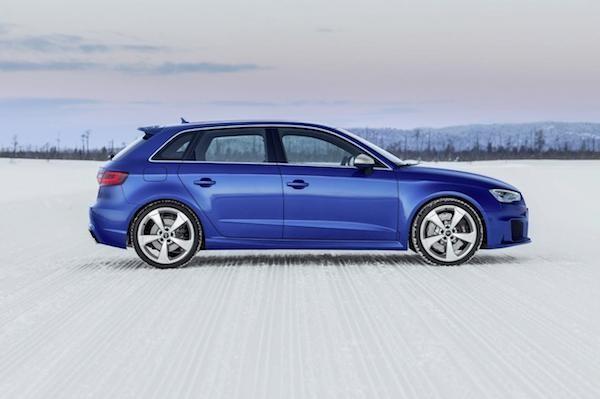 Chiêm ngưỡng những hình ảnh mới của Audi RS3 Sportback ảnh 4