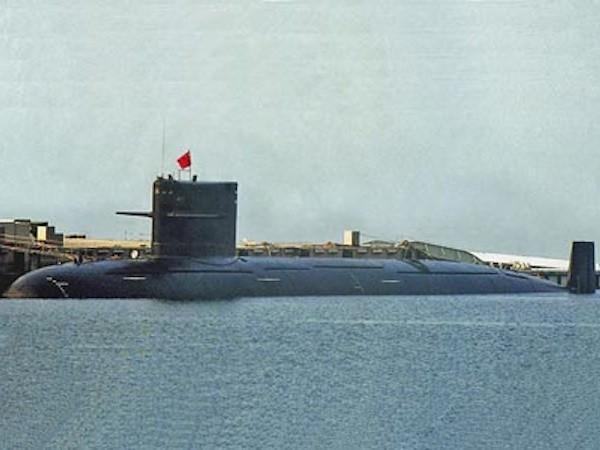 Hình ảnh tàu ngầm Type 093G xuất hiện trên mạng