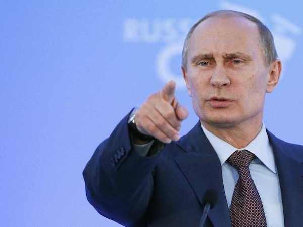 Tổng thống Putin khẳng định Kiev nhận vũ khí từ phương Tây