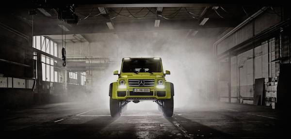 Mercedes trình làng mẫu xe hầm hố G500 4x4² concept ảnh 4