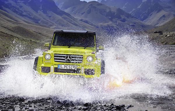 Mercedes trình làng mẫu xe hầm hố G500 4x4² concept ảnh 3