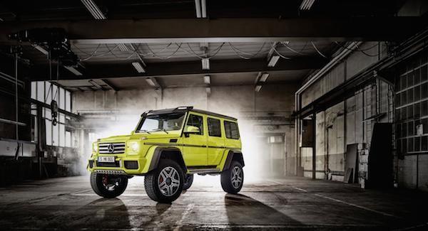 Mercedes trình làng mẫu xe hầm hố G500 4x4² concept ảnh 5