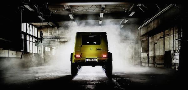 Mercedes trình làng mẫu xe hầm hố G500 4x4² concept ảnh 6