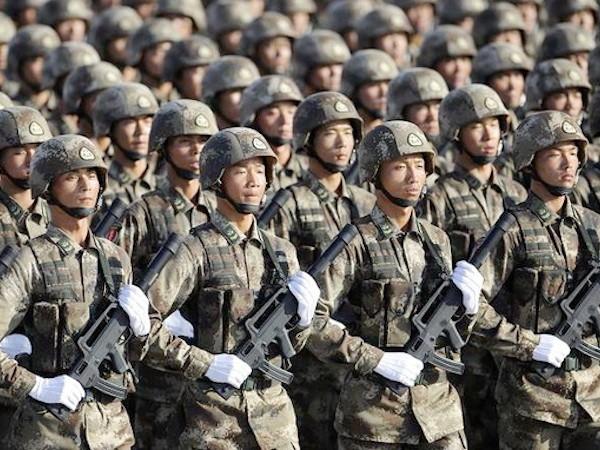 Ngân sách quốc phòng Trung Quốc đã có mức tăng trưởng 2 con số trong 4 năm qua