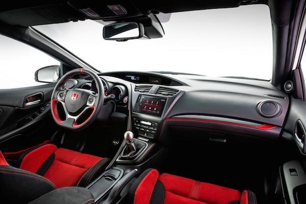 Honda Civic Type R 2015: Kiểu dáng thể thao, động cơ mạnh mẽ ảnh 2