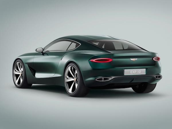 Bentley EXP 10 Speed 6: Sang trọng kết hợp thể thao ảnh 3