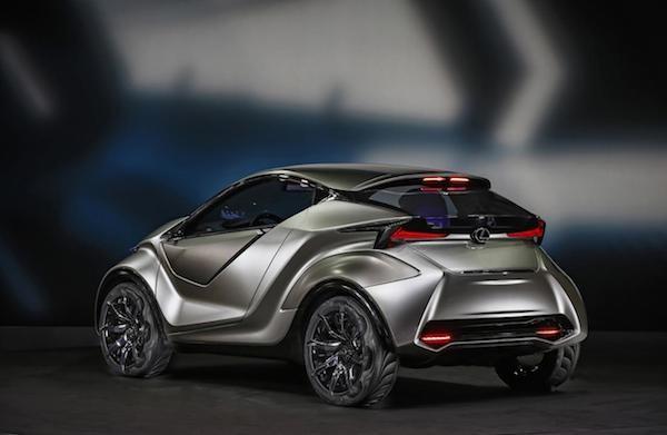 Chiêm ngưỡng mẫu concept cỡ nhỏ LF-SA độc đáo của Lexus ảnh 5