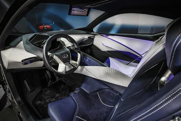 Chiêm ngưỡng mẫu concept cỡ nhỏ LF-SA độc đáo của Lexus ảnh 2