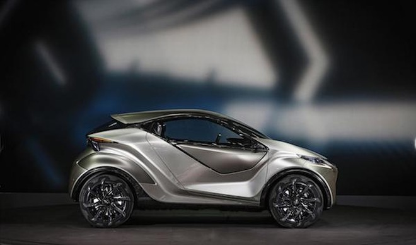 Chiêm ngưỡng mẫu concept cỡ nhỏ LF-SA độc đáo của Lexus ảnh 6