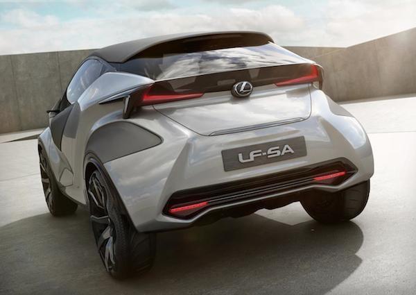 Chiêm ngưỡng mẫu concept cỡ nhỏ LF-SA độc đáo của Lexus ảnh 7