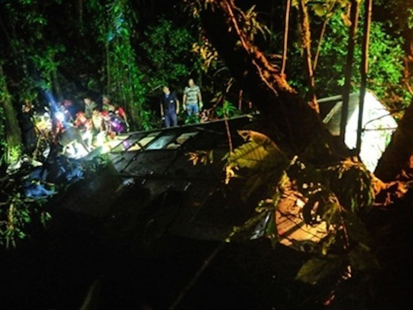 Brazil: Xe buýt lao xuống vực, 51 người thiệt mạng ảnh 1