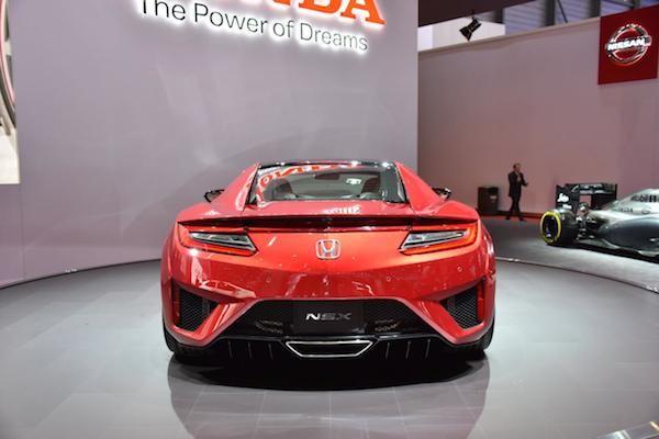 """Chiêm ngưỡng Honda NSX """"toả sáng"""" tại triển lãm ôtô Geneva"""