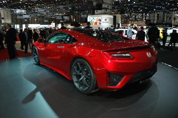 """Chiêm ngưỡng Honda NSX """"toả sáng"""" tại triển lãm ôtô Geneva ảnh 4"""