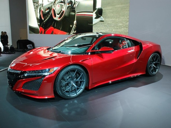"""Chiêm ngưỡng Honda NSX """"toả sáng"""" tại triển lãm ôtô Geneva ảnh 1"""