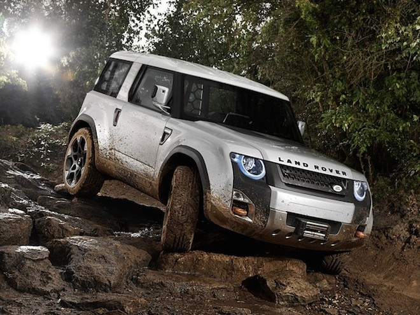 Land Rover Defender mới sẽ xuất hiện vào năm 2018 ảnh 1