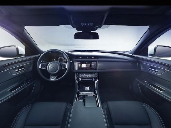 Jaguar tung ảnh teaser của XF 2016, trình làng vào 24-3 ảnh 1