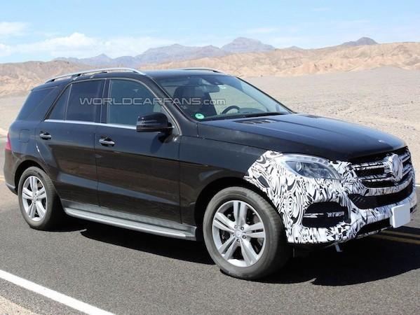 """Mercedes-Benz GLE sẽ """"xuất đầu lộ diện"""" vào 1-4"""