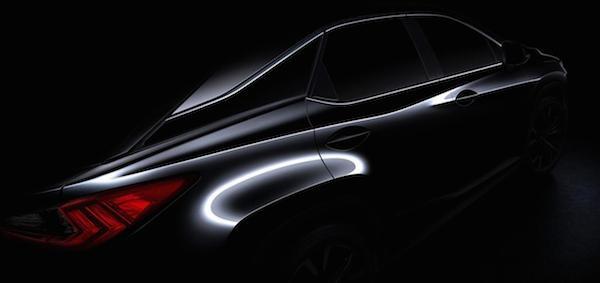 Lexus tung ảnh teaser của RX 2016, ra mắt tại triển lãm New York ảnh 2
