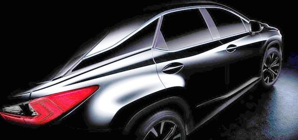 Lexus tung ảnh teaser của RX 2016, ra mắt tại triển lãm New York