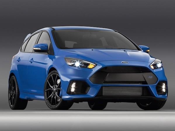 Ford Focus RS phiên bản Mỹ sẽ được bán ra vào đầu năm 2016