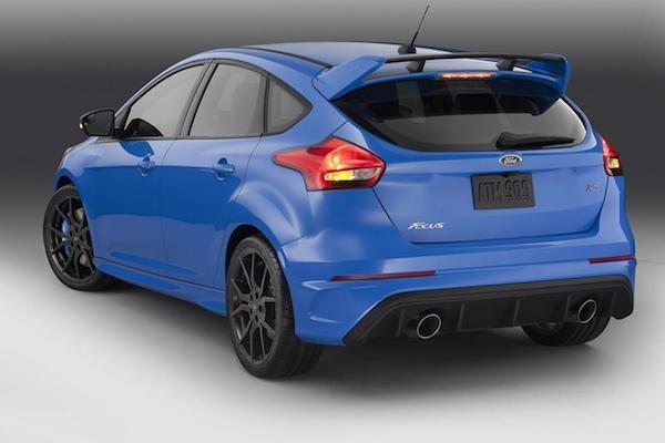 Ford Focus RS 2016 sẵn sàng cho triển lãm ôtô New York